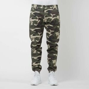Mass Denim joggers pants Classics sneaker fit woodland camo