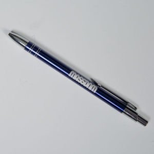Mass Denim pen Classics Logo navy blue