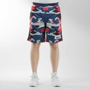 Mass Denim sportshorts Battle mesh navy camo