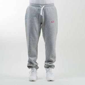 Mass Denim sweatpants Cover regular fit light heather grey