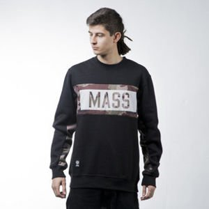 Mass Denim sweatshirt Battle crewneck black