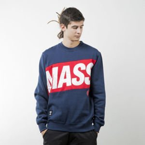 Mass Denim sweatshirt Big Box crewneck navy