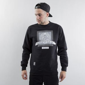 Mass Denim sweatshirt Capitol crewneck black