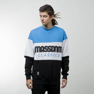 Mass Denim sweatshirt Classic Cut crewneck black / blue