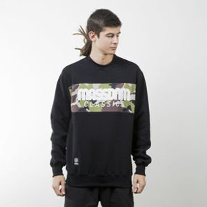 Mass Denim sweatshirt Classics Camo crewneck black