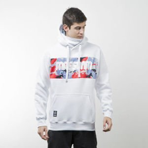 Mass Denim sweatshirt Classics Camo hoody white