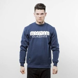 Mass Denim sweatshirt Classics Crewneck navy