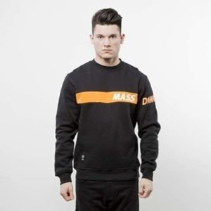 Mass Denim sweatshirt Flip Crewneck black