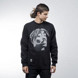 Mass Denim sweatshirt La Legend crewneck black