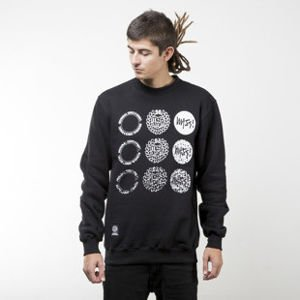 Mass Denim sweatshirt Mind crewneck black