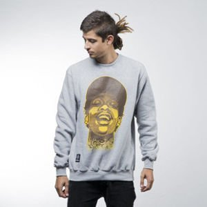 Mass Denim sweatshirt Pittsburgh Legend crewneck light heather grey
