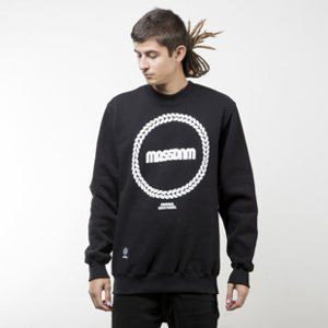 Mass Denim sweatshirt Ring crewneck black