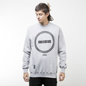 Mass Denim sweatshirt Ring crewneck light heather grey