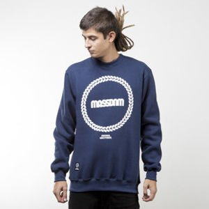Mass Denim sweatshirt Ring crewneck navy