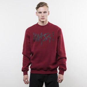 Mass Denim sweatshirt Signature Handmade Crewneck claret