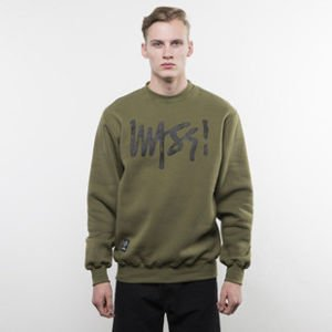 Mass Denim sweatshirt Signature Handmade Crewneck khaki