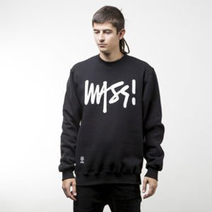 Mass Denim sweatshirt Signature crewneck black