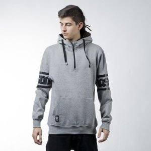 Mass Denim  sweatshirt Sleeveless hoody light heather grey