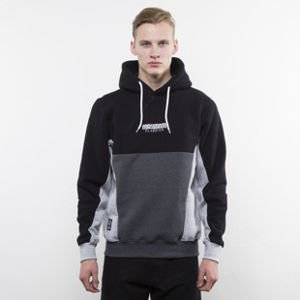 Mass Denim sweatshirt Sprint Hoody black / dark heather grey