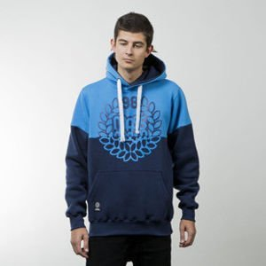 Mass Denim sweatshirts Base Cut hoody blue / navy