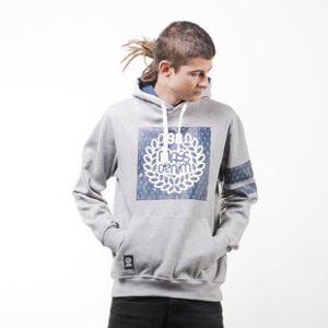 Mass Denim sweatshirts Champion hoody light heather grey