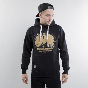 Mass Denim sweatshirts Legends Hoody black