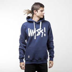 Mass Denim sweatshirts Signature Hoody navy