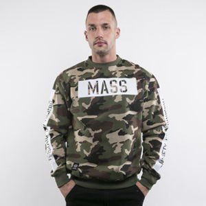 Mass Denim sweatshirts Woodland Crewneck camo