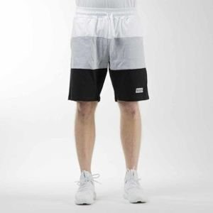 Mass Denim sweatshorts Horizon light heather grey / black
