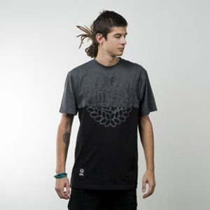 Mass Denim t-shirt Base Cut black / dark heather grey