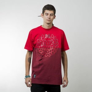 Mass Denim t-shirt Base Cut red / claret