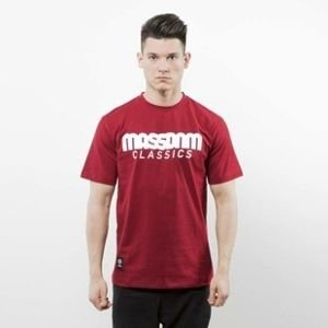 Mass Denim t-shirt Classics claret SS 2017