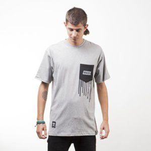 Mass Denim t-shirt Pocket Cover light heather grey
