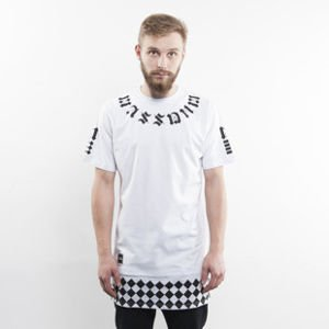 Mass Denim t-shirt Sensei long fit white BLAKK