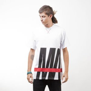 Mass Denim t-shirt Split white
