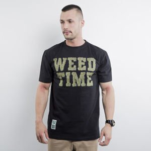Mass Denim t-shirt Weed Time black