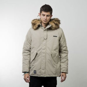 Mass Denim winter jacket Spitsbergen beige