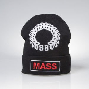 Mass Denim wintercap Conversion beanie black BLAKK