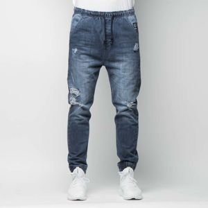 Mass DenimStreet Sign Joggers Jeans Trap Fit distressed denim