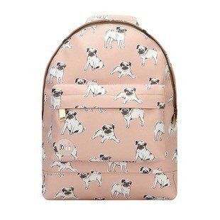 Mi-Pac backpack Pugs peach