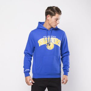 Mitchell & Ness Golden State Warriors Hoody royal Team Arch