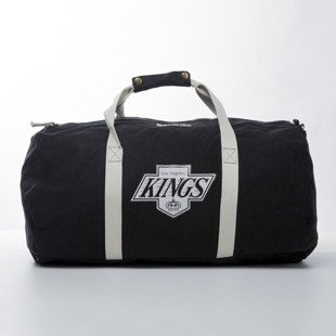 Mitchell & Ness Los Angeles Kings Duffle Bag black TEAM LOGO