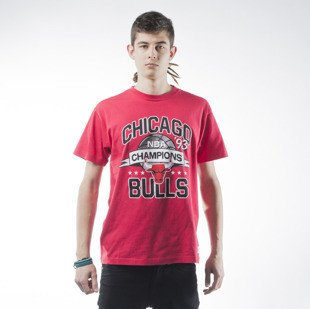 Mitchell & Ness T-shirt Chicago Bulls NBA Champions red