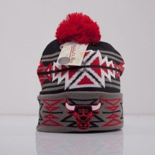 Mitchell & Ness beanie Chicago Bulls black Geo-Tech KN50Z