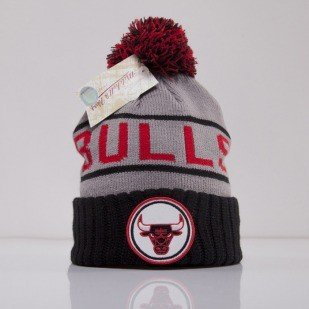 Mitchell & Ness beanie Chicago Bulls grey High 5 KJ46Z