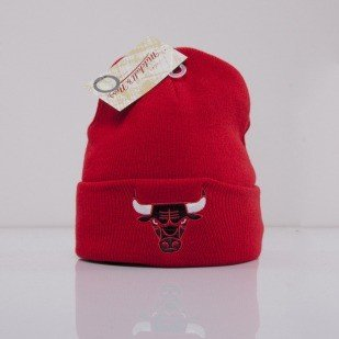 Mitchell & Ness beanie Chicago Bulls red Team Talk EU175