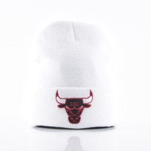 Mitchell & Ness beanie Chicago Bulls white Team Talk EU175