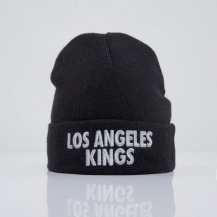 Mitchell & Ness beanie Los Angeles Kings black Headline EU253