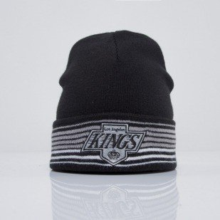 Mitchell & Ness beanie Los Angeles Kings black Linear EU256