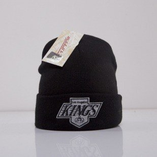 Mitchell & Ness beanie Los Angeles Kings black Team Talk EU175